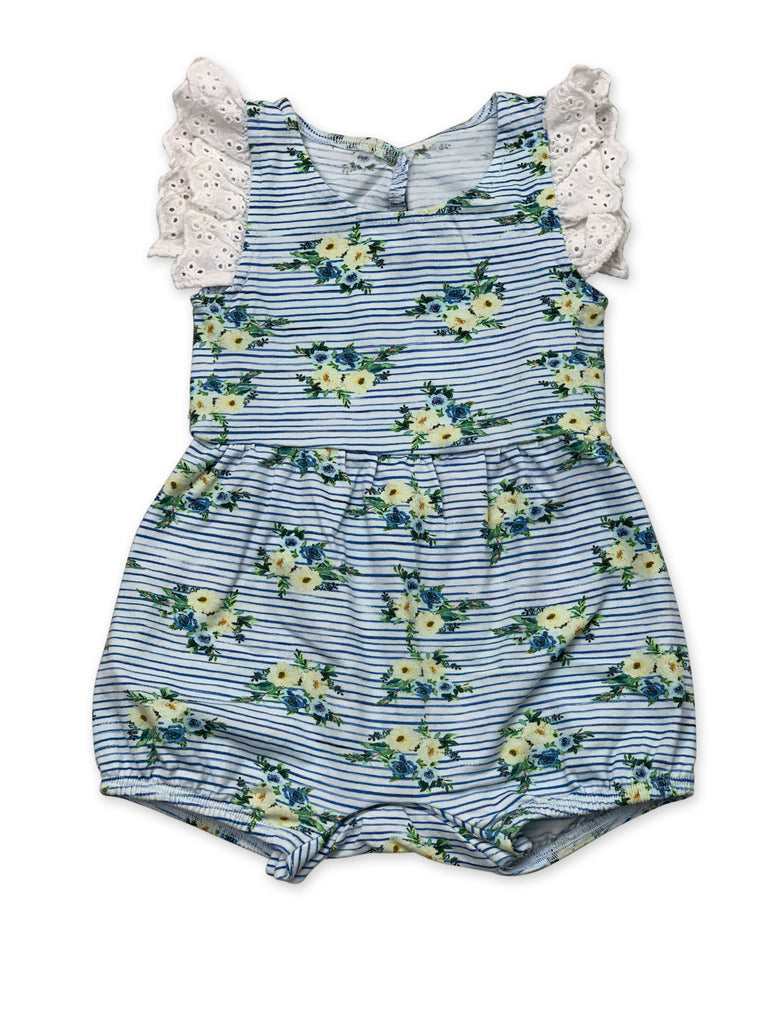 Laney Bubble in Nautical Summer Newborn - Doodlebug's Children's Boutique