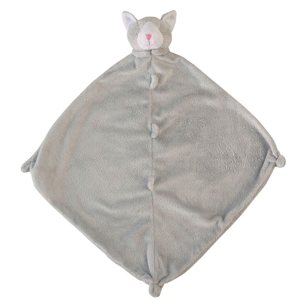 Grey Kitty Lovie Blankie Grey Kitty - Doodlebug's Children's Boutique