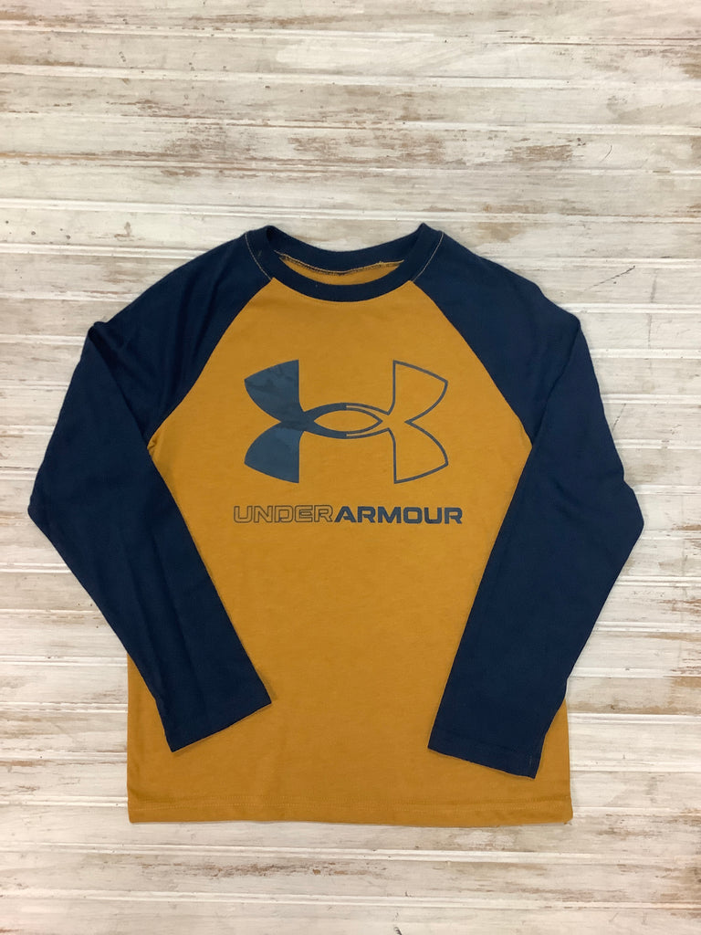 Golden Yellow Long Sleeve Raglan Tee  - Doodlebug's Children's Boutique