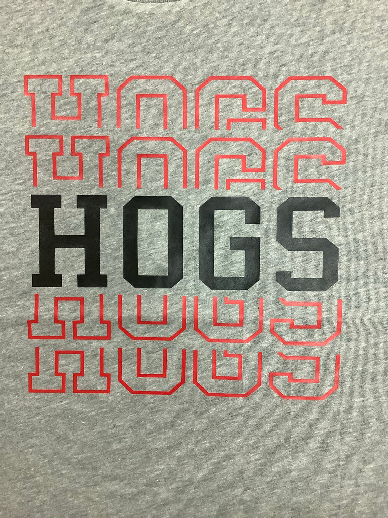 Hogs Repetitive Tee  - Doodlebug's Children's Boutique