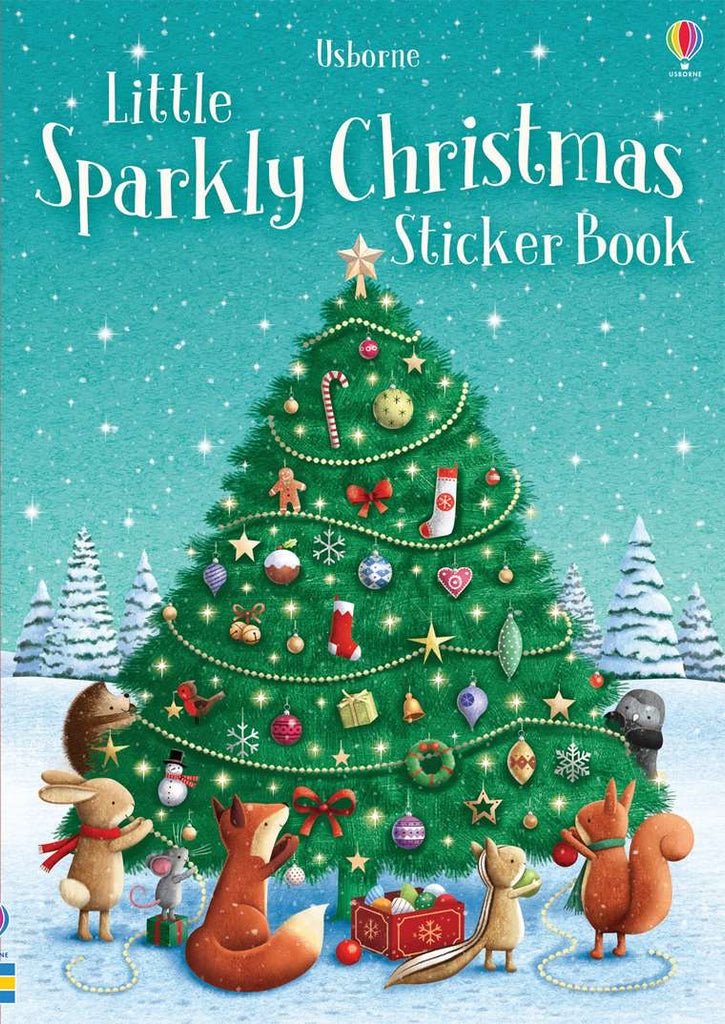 Little Sparkly Sticker Christmas Book  - Doodlebug's Children's Boutique