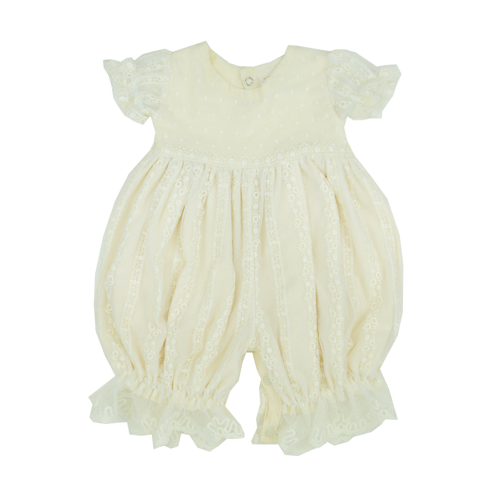 Mary Catherine Bubble Romper Bubble / 0-3 months - Doodlebug's Children's Boutique