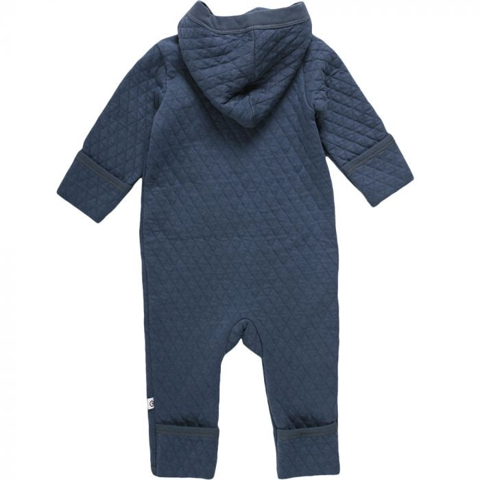 Quilt Suit in Midnight  - Doodlebug's Children's Boutique