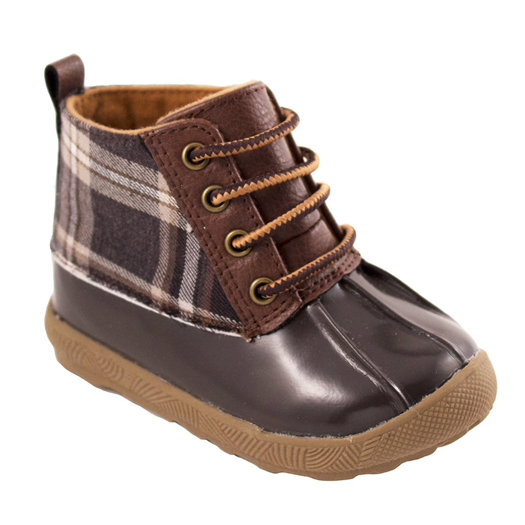 Brown Duck Boot  - Doodlebug's Children's Boutique