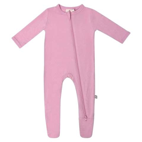 Zippered Footie in Dusk Dusk / 0-3 months - Doodlebug's Children's Boutique