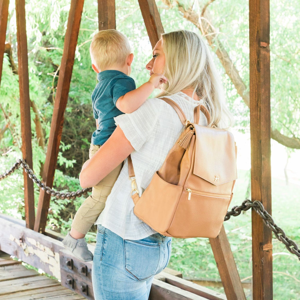 Butterscotch Classic Diaper Bag  - Doodlebug's Children's Boutique