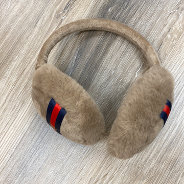 Ear Muffs in Tan