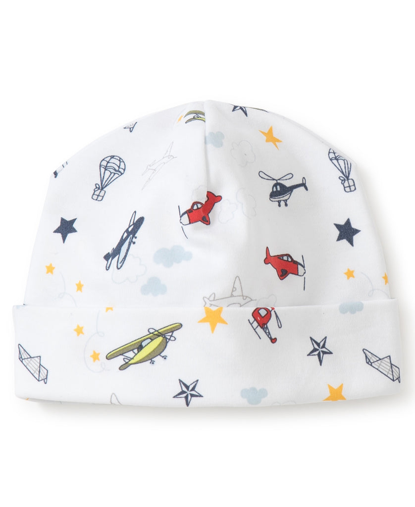 Aviators Print Hat  - Doodlebug's Children's Boutique