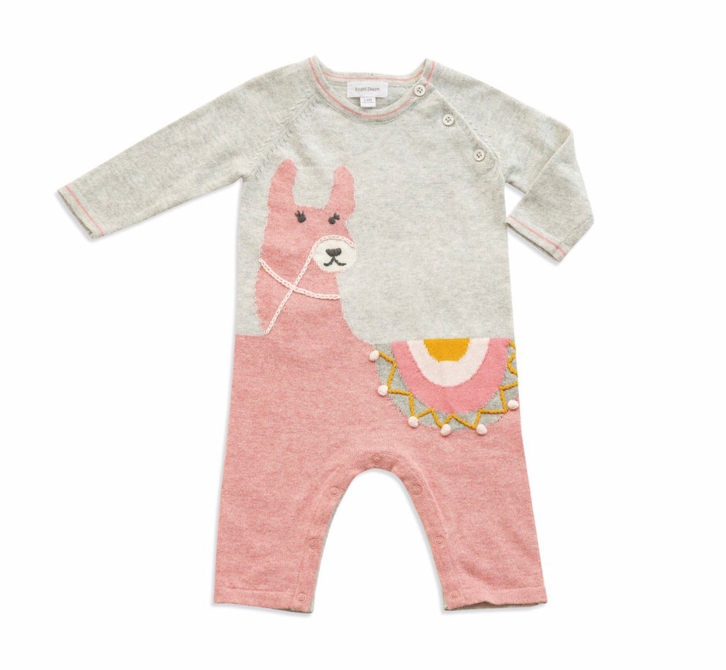 Angel Dear Llama Knits Alpaca Coverall