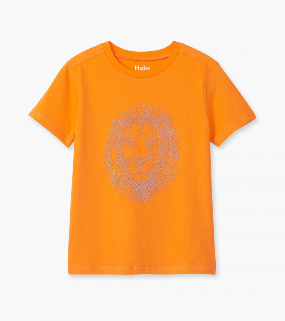 Majestic Lion Graphic Tee  - Doodlebug's Children's Boutique