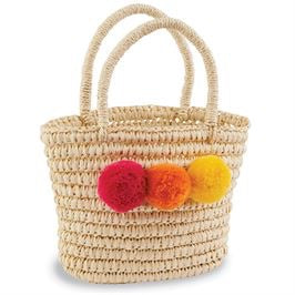 Mud Pie Pom Poms Bag