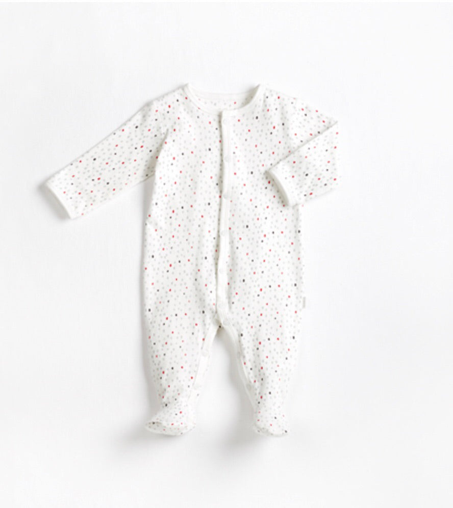 Firsts by Petit Lem Baby It's Cold Outside Footie