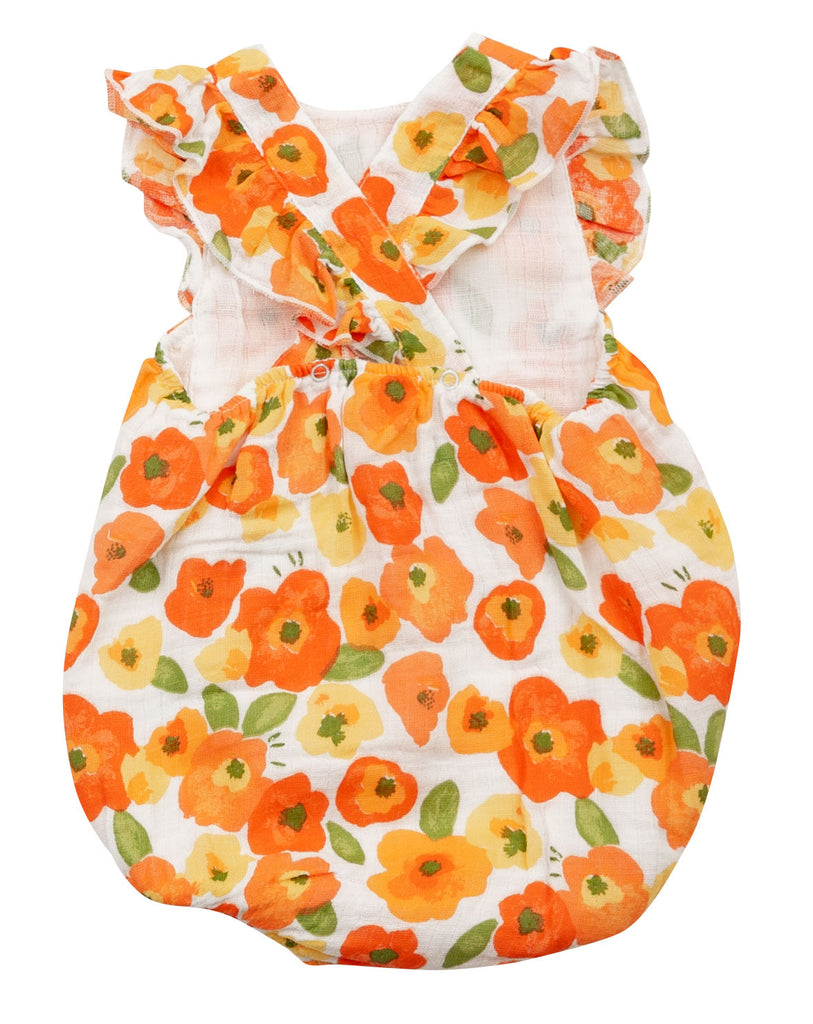 Poppy Fields Sunsuit  - Doodlebug's Children's Boutique