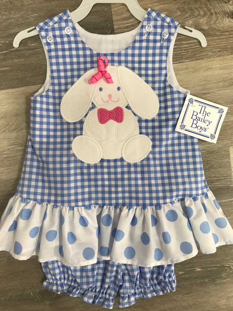 The Bailey Boys Gingham Easter Dress