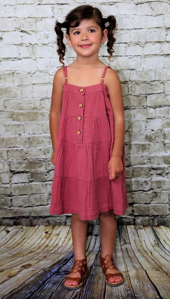 Primrose Strap Dress  - Doodlebug's Children's Boutique