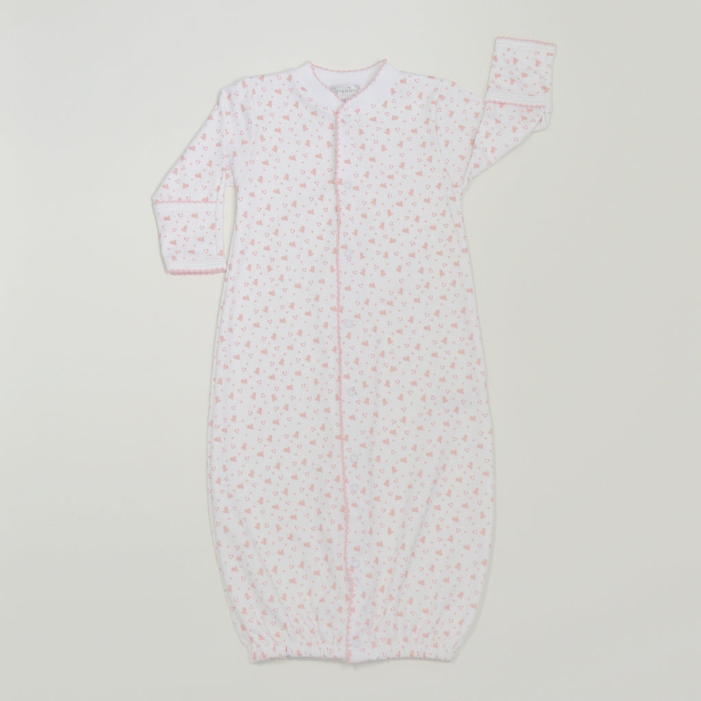 Kissy Kissy Hearts and Stars Convertible Gown  - Doodlebug's Children's Boutique