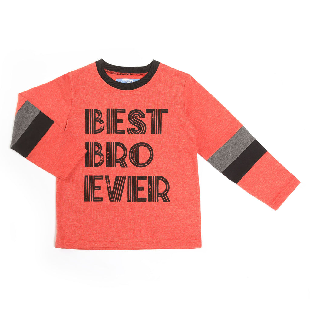 Kapital K Best Bro Ever Shirt  - Doodlebug's Children's Boutique
