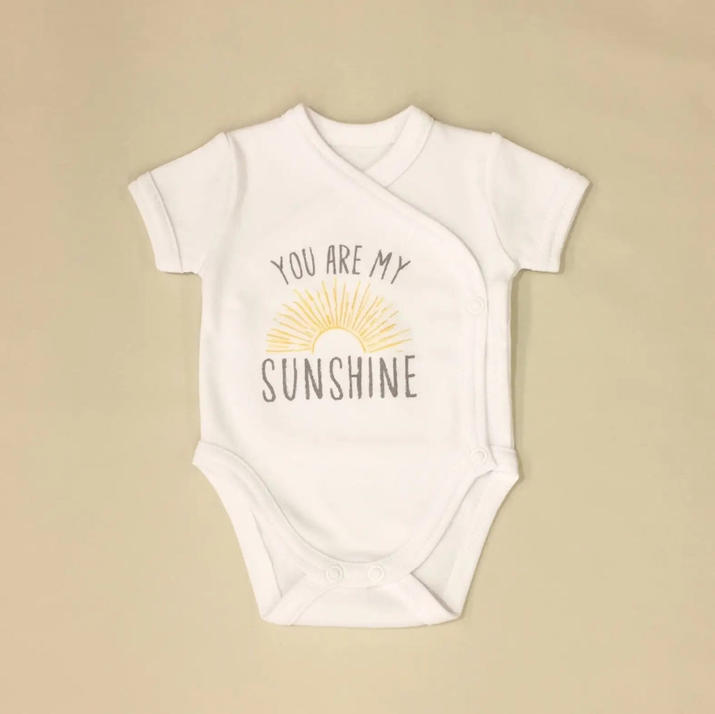 You are my Sunshine Kimono Onesie  - Doodlebug's Children's Boutique