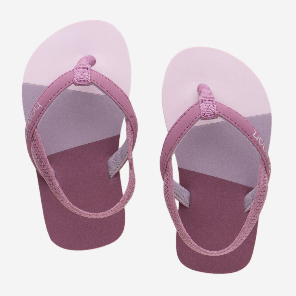 Meadows Asana Flip Flops in Rose Multi  - Doodlebug's Children's Boutique