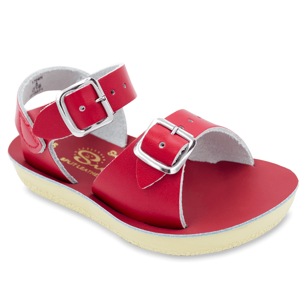 Surfer Toddler in Red Red / 5 - Doodlebug's Children's Boutique