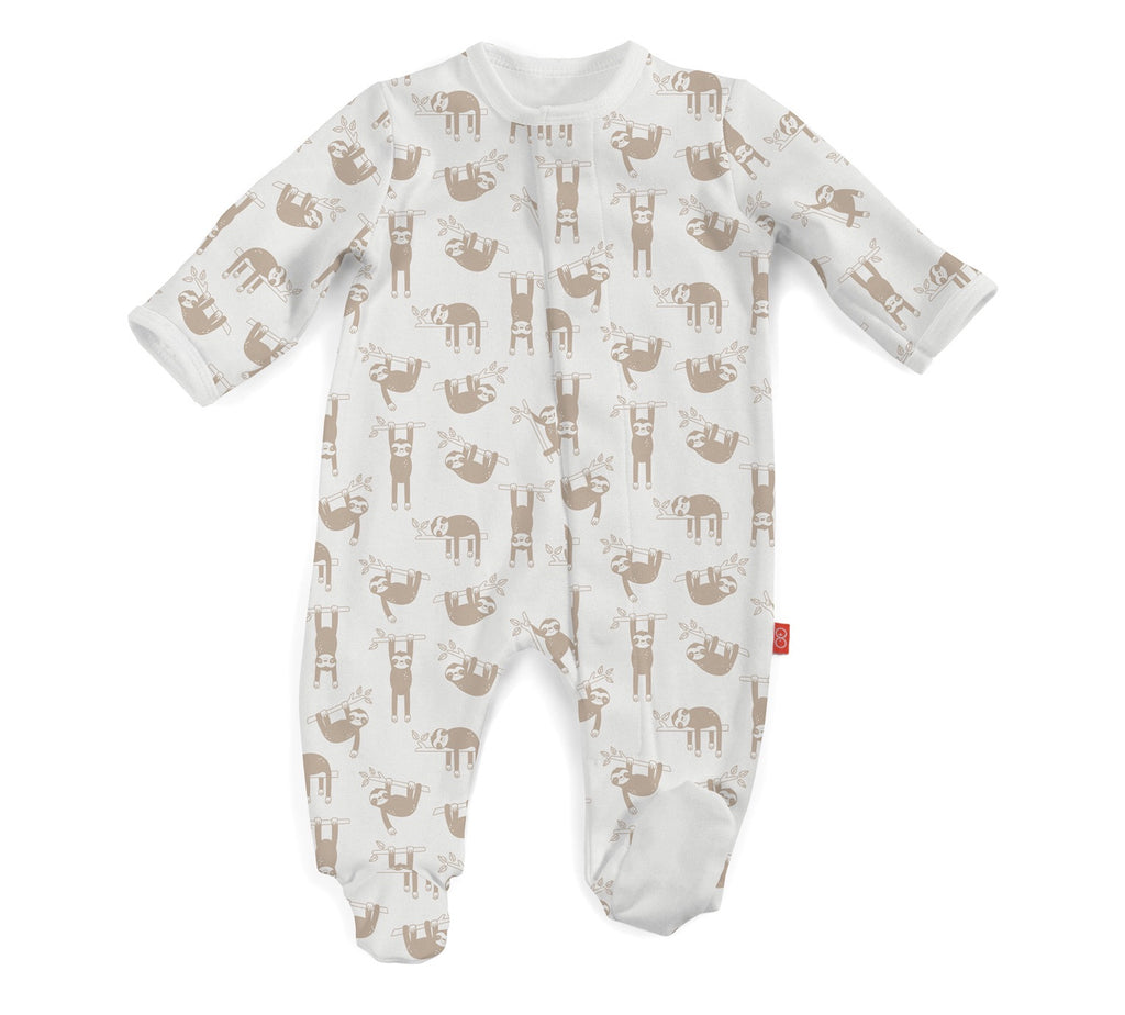 Magnetic Me Organic Cotton Footie for Boys
