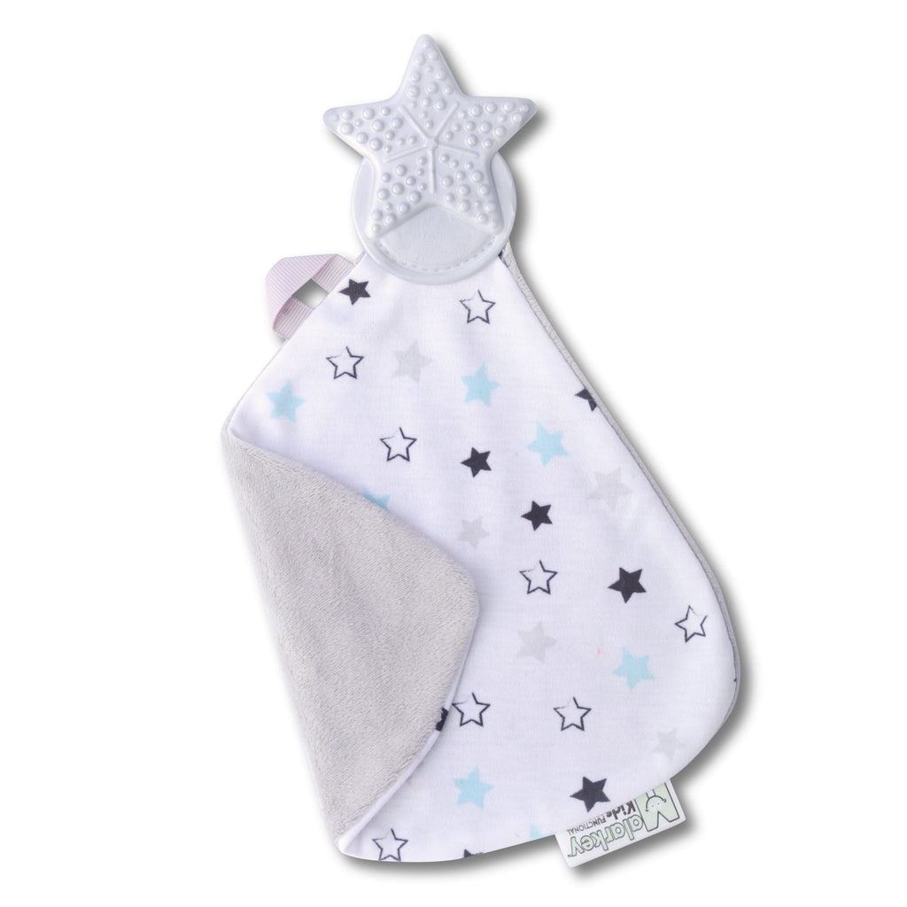 Munch It Teething Blanket in Twinkle Twinkle  - Doodlebug's Children's Boutique