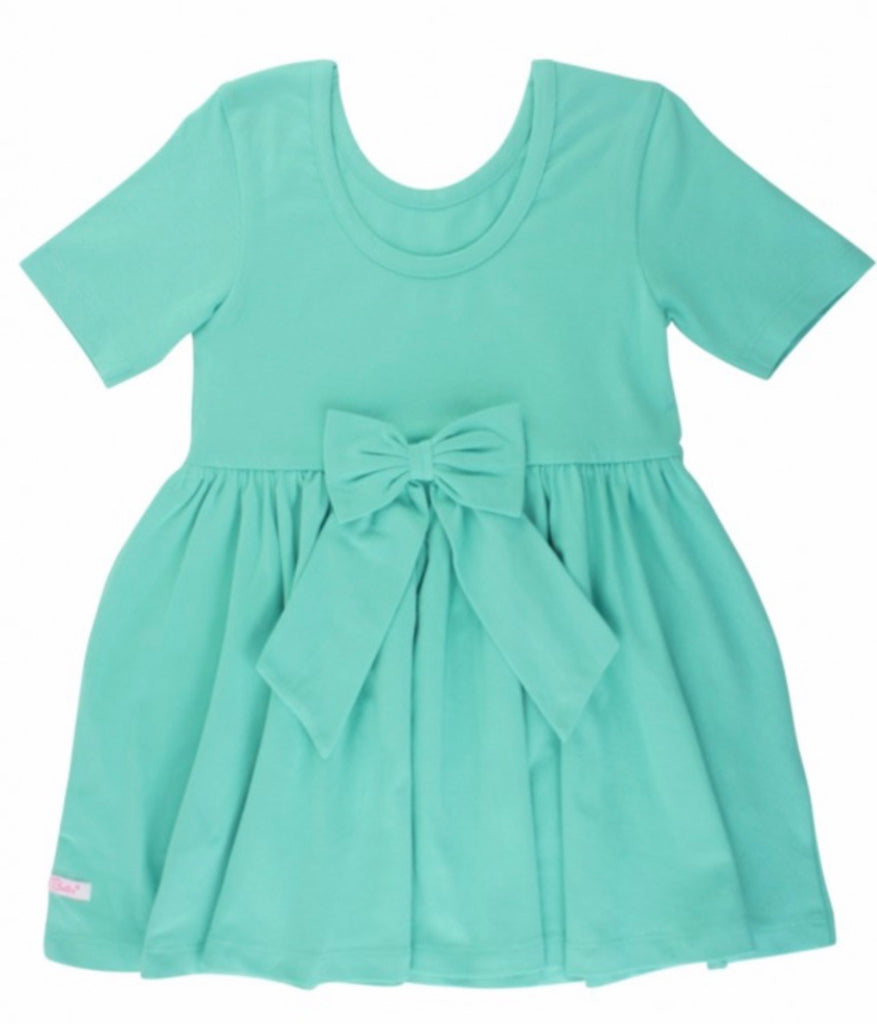 Turquoise Twirl Dress  - Doodlebug's Children's Boutique