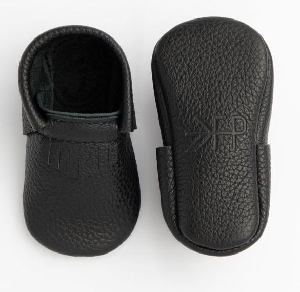 Carbon City The First Pair Moccasins Carbon City Mocc / 0 - Doodlebug's Children's Boutique