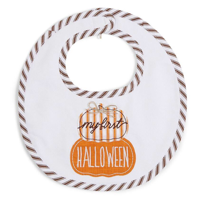 My First Halloween Bib  - Doodlebug's Children's Boutique