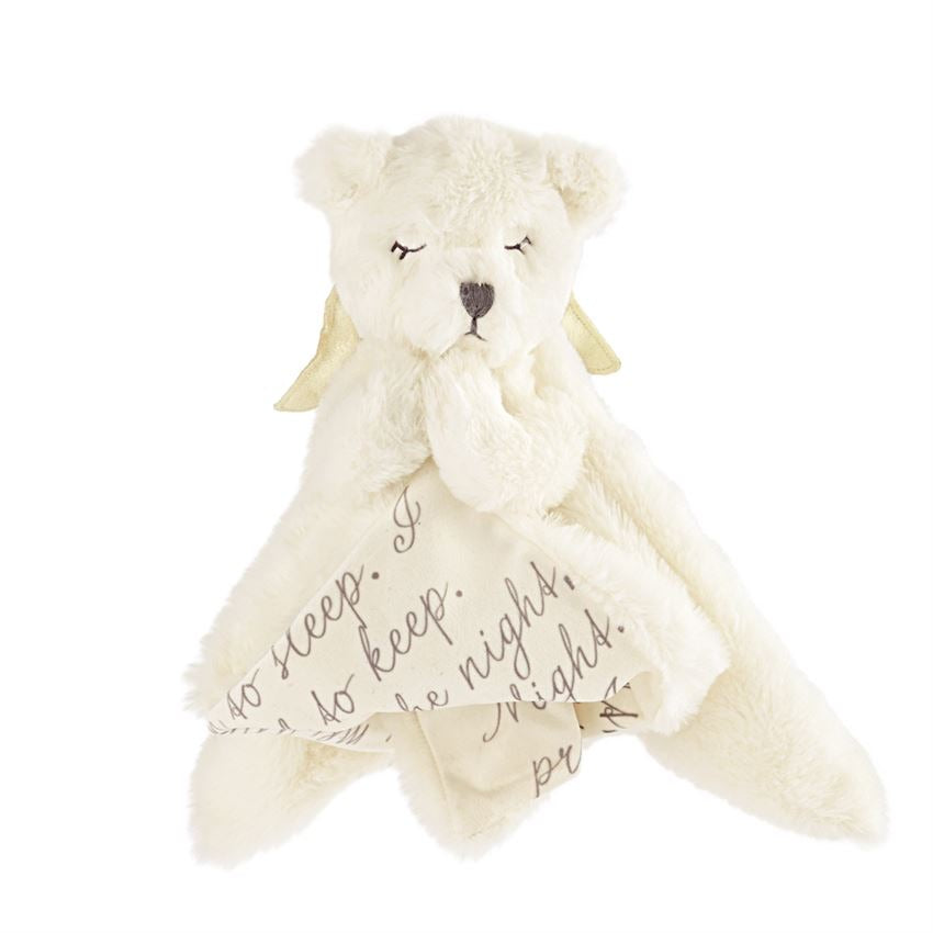 Prayer Bear Woobie  - Doodlebug's Children's Boutique