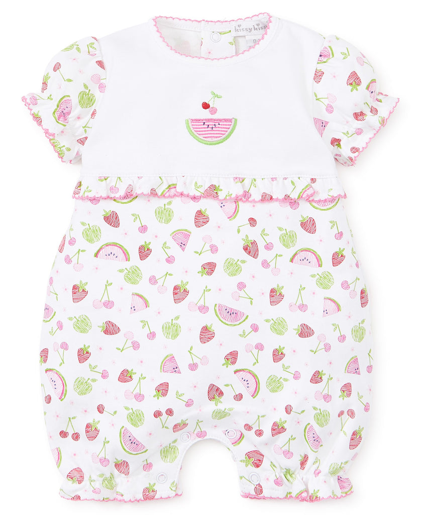 Kissy Kissy Tutti Frutti Short Playsuit