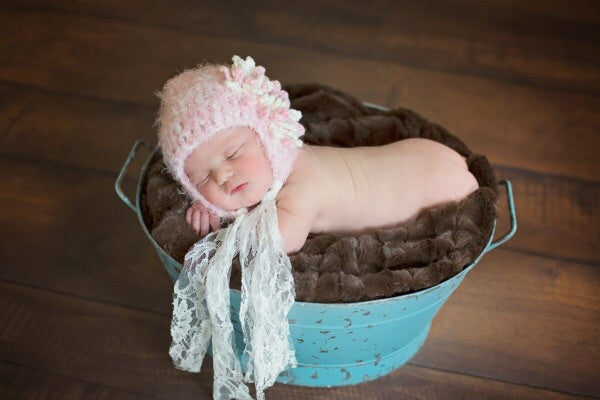 Pink Chardonnay Hat  - Doodlebug's Children's Boutique