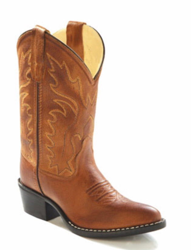 Old West Brown Classic Child Boots