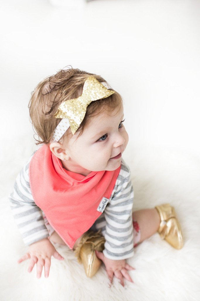 Two Pack Bandana Bibs in Brights  - Doodlebug's Children's Boutique