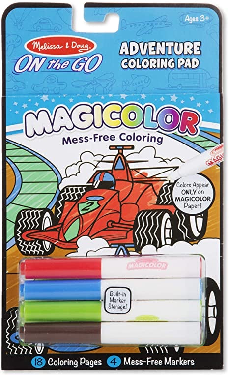 Magicolor Adventure Coloring Pad  - Doodlebug's Children's Boutique