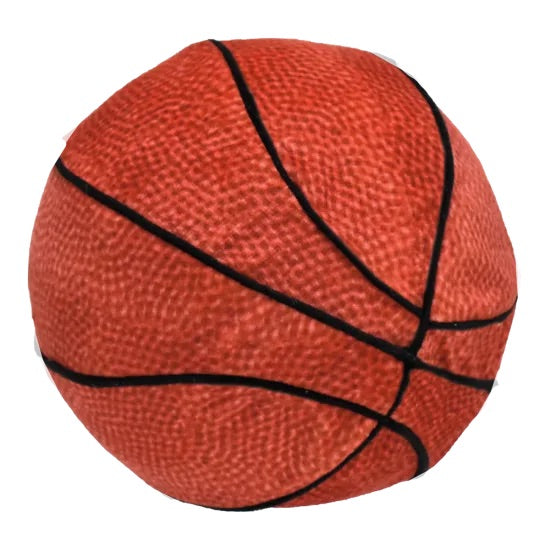 Basketball 3D Slow Rise Pillow  - Doodlebug's Children's Boutique