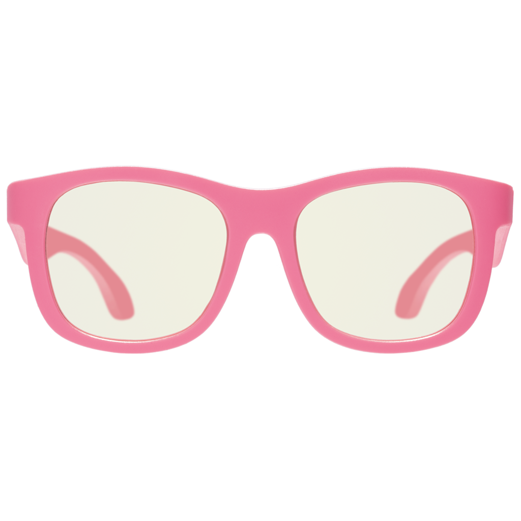 Navigator Blue Light Blocking Glasses in Thinking Pink  - Doodlebug's Children's Boutique