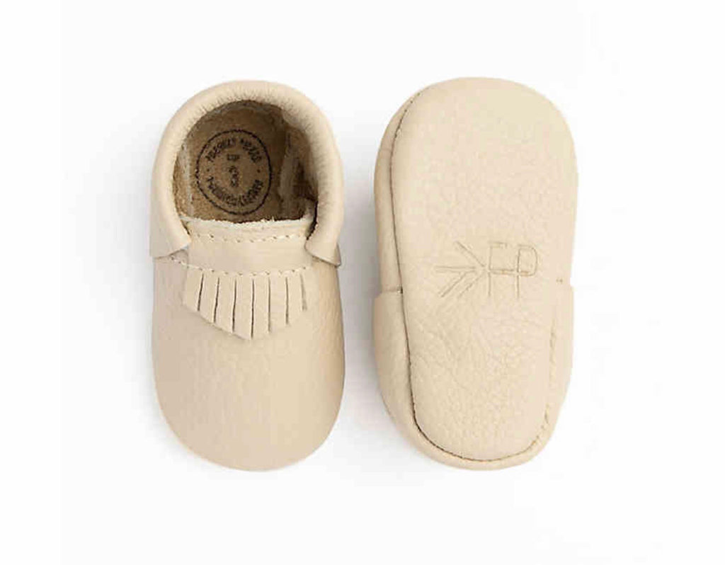 Cream City The First Pair Moccasins Cream City Mocc / 0 - Doodlebug's Children's Boutique