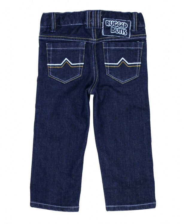 Dark Blue Slim Jeans  - Doodlebug's Children's Boutique