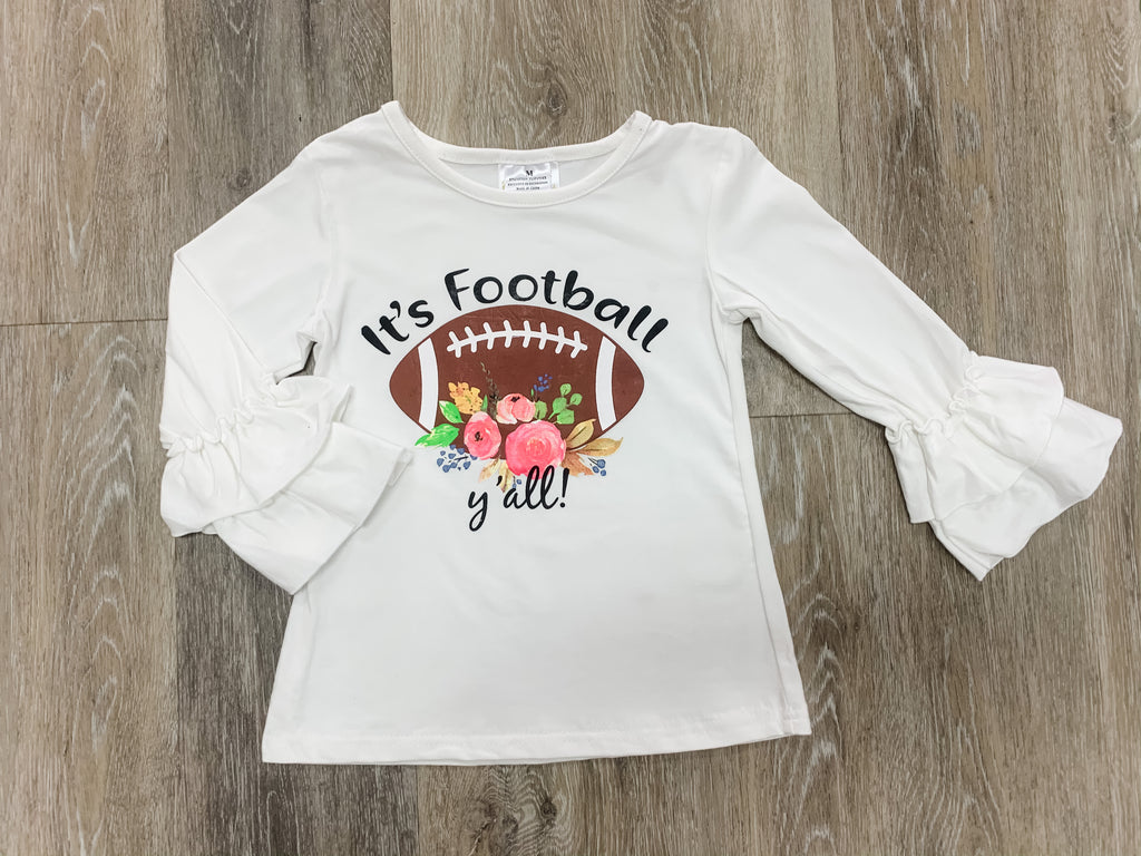 Football Y'all Set  - Doodlebug's Children's Boutique