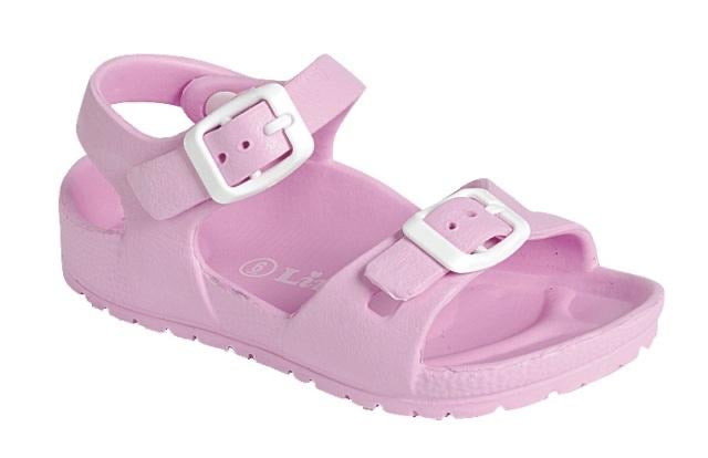 Beva Sandals light pink  - Doodlebug's Children's Boutique