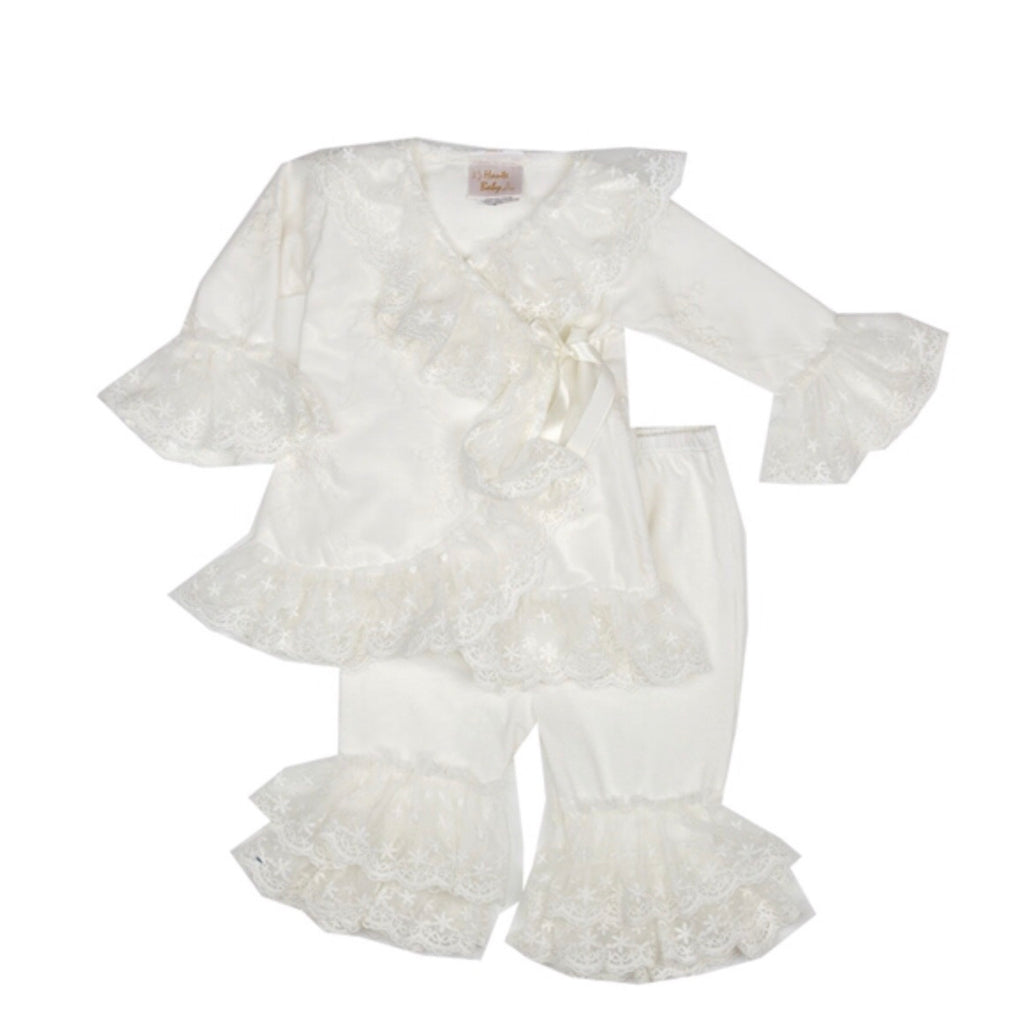 Haute Baby Babys Breath Criss Cross Set