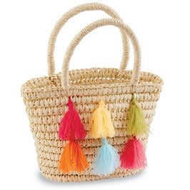 Mud Pie Tassel Bag