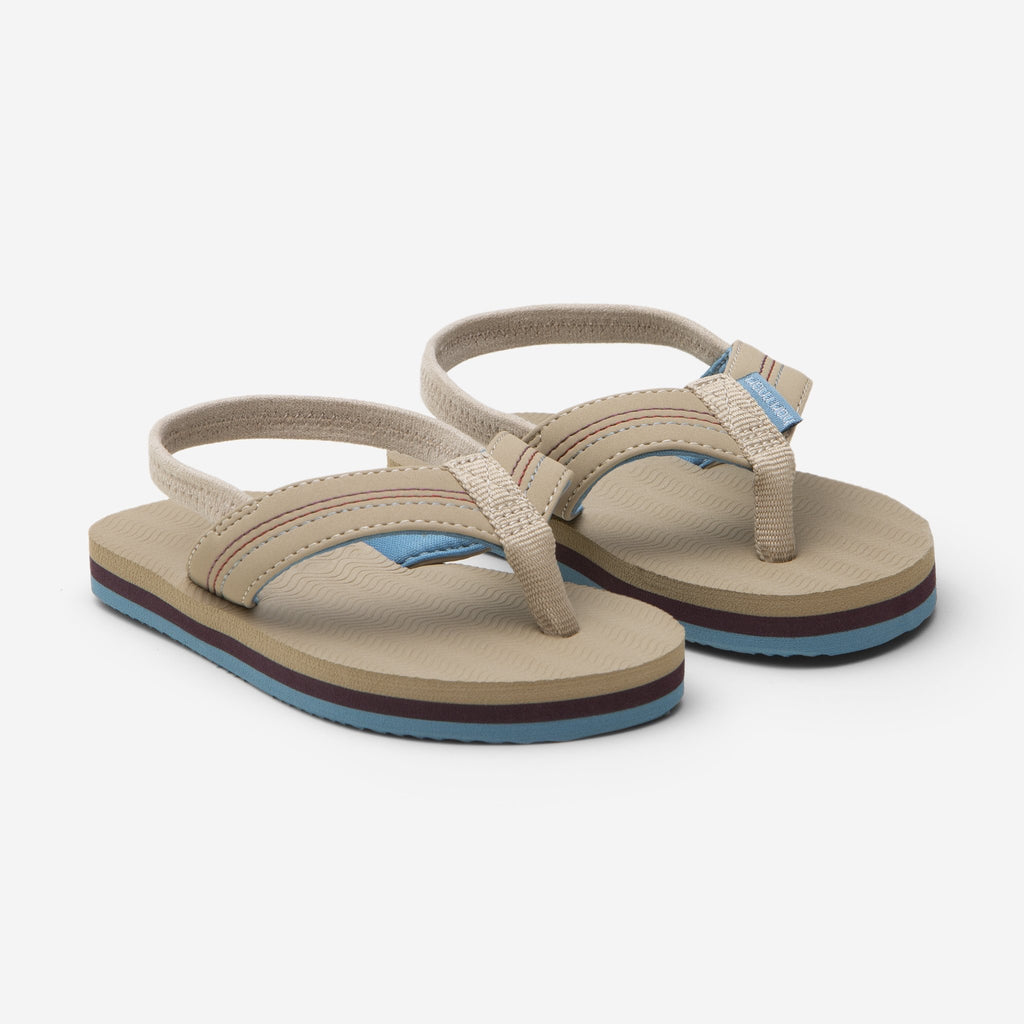 Brazos Flip Flops in Tan  - Doodlebug's Children's Boutique