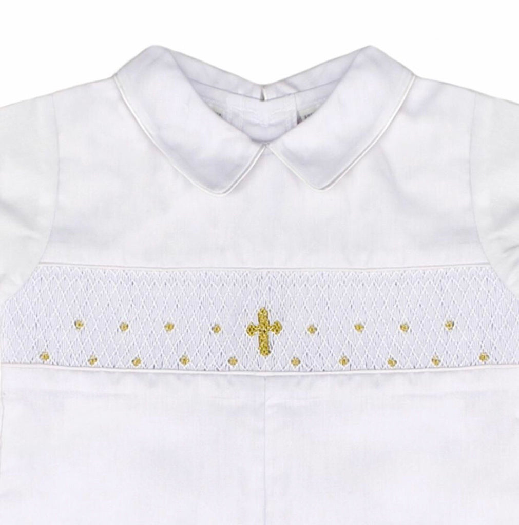 Gold Cross Longall  - Doodlebug's Children's Boutique