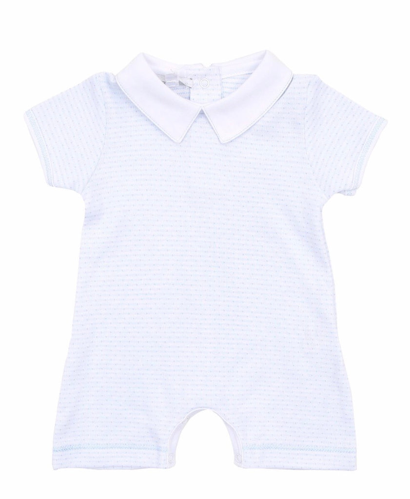 Magnolia Baby Collared Short Playsuit