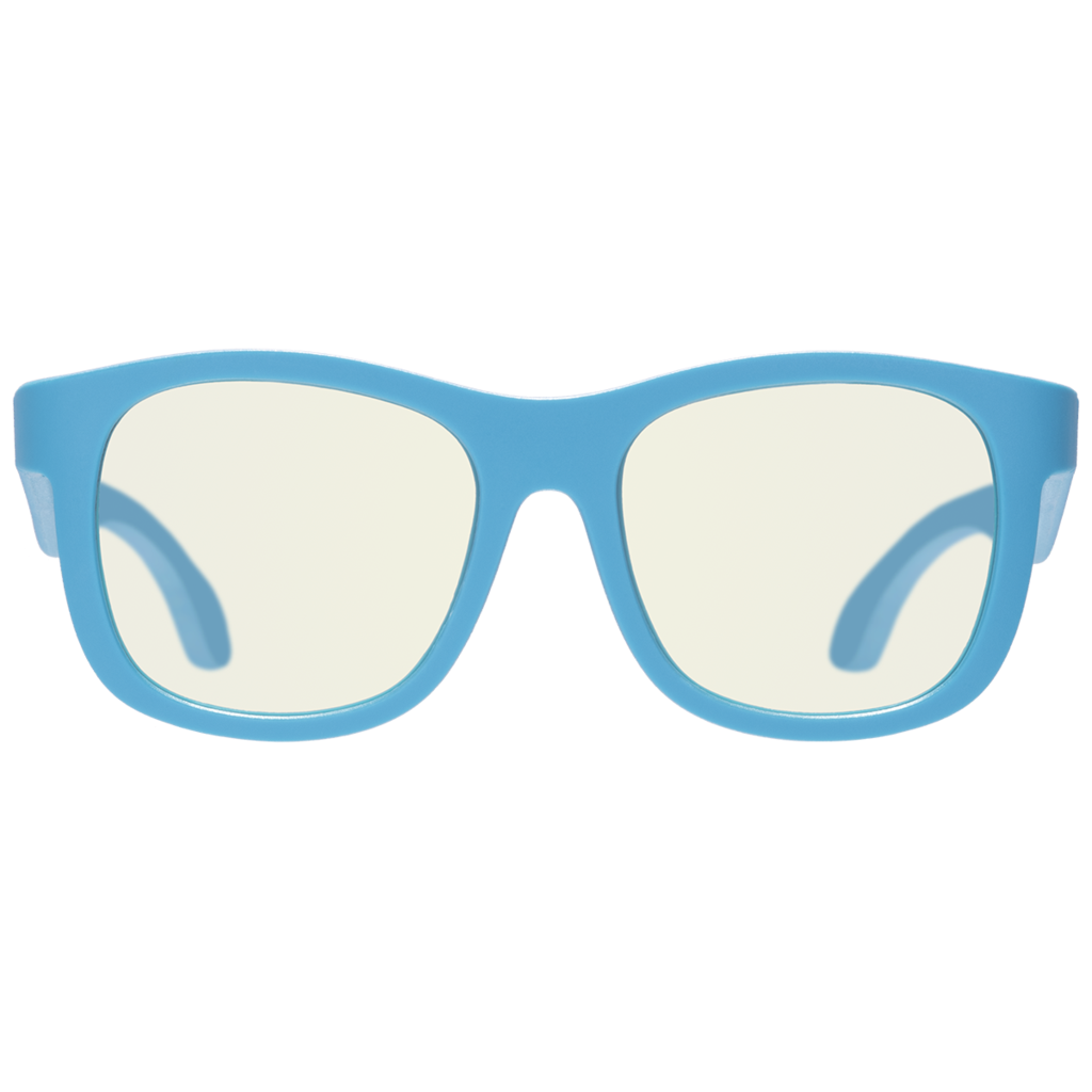 Navigator Blue Light Blocking Glasses in Blue Crush  - Doodlebug's Children's Boutique