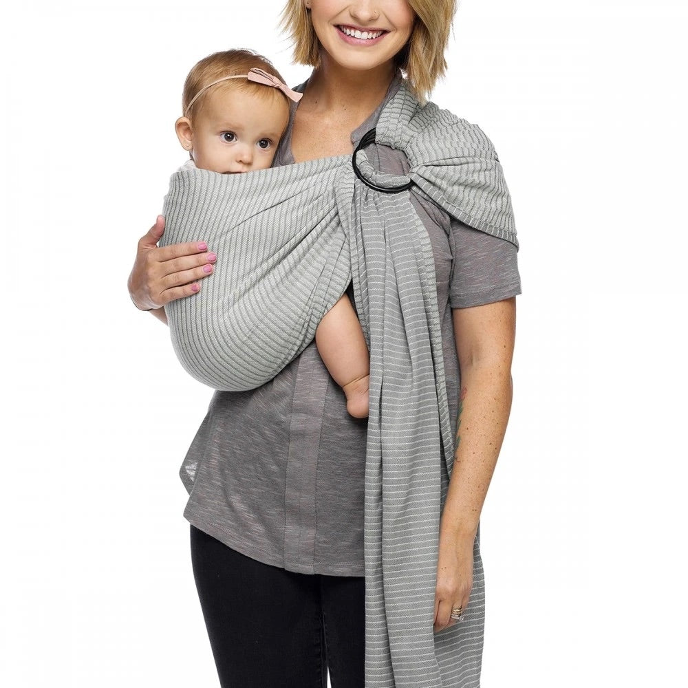 Ring Sling in Silver Streak  - Doodlebug's Children's Boutique