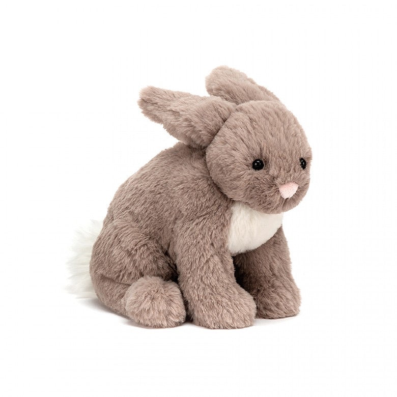Small Riley Beige Rabbit  - Doodlebug's Children's Boutique