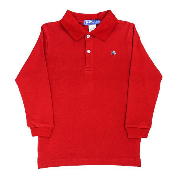 J. Bailey Harry Soft Knit Long Sleeve Polo